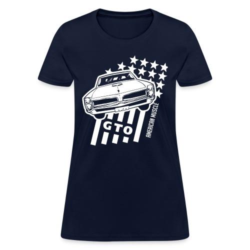 Pontiac GTO Stars & Stripes - Women's T-Shirt