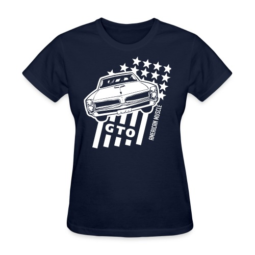 Pontiac GTO Stars & Stripes - Women's T-Shirt