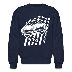 Pontiac GTO Stars & Stripes - Crewneck Sweatshirt