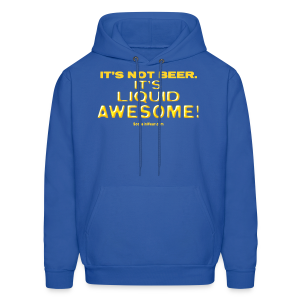 Liquid Awesome!  (Digital Print) - Men's Hoodie