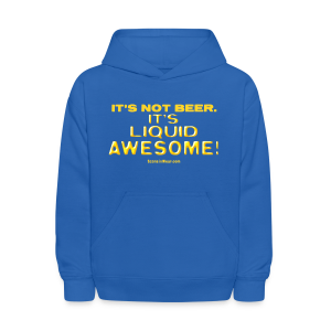 Liquid Awesome!  (Digital Print) - Kids' Hoodie