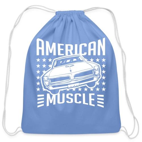 Pontiac GTO American Muscle - Cotton Drawstring Bag