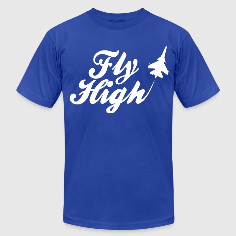 Fly High T-Shirts - Men's T-Shirt by American Apparel