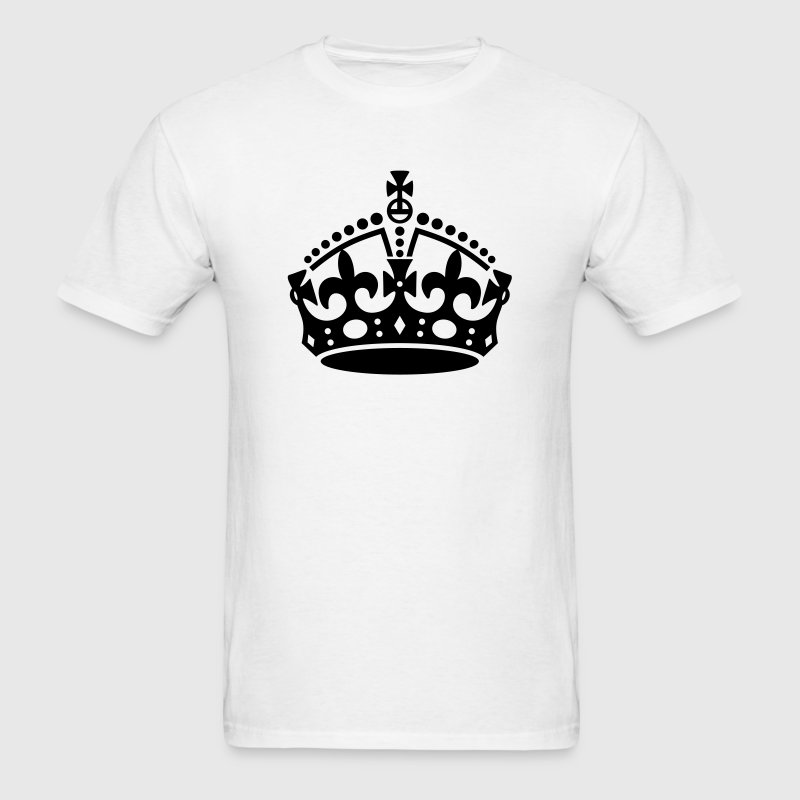 Keep Calm and Carry On Crown T-Shirts - Men's T-Shirt