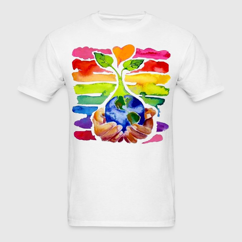 Tree of love - Men's T-Shirt