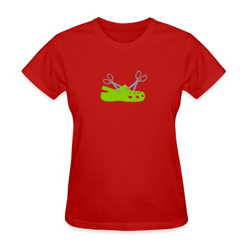 Cuttin' Crocs for Ladies - Women's T-Shirt