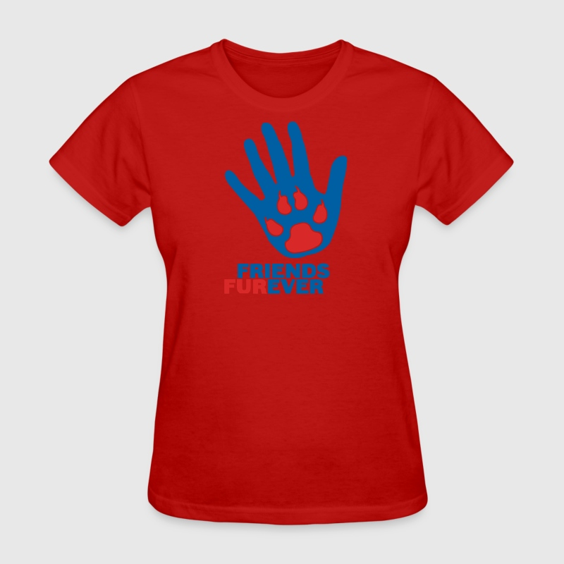 Red Friends Furever Women - Women's T-Shirt