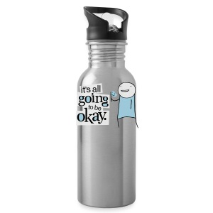 IAG2BOK lightweight tee - Water Bottle