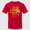 pop it like it's hot - Men's T-Shirt by American Apparel