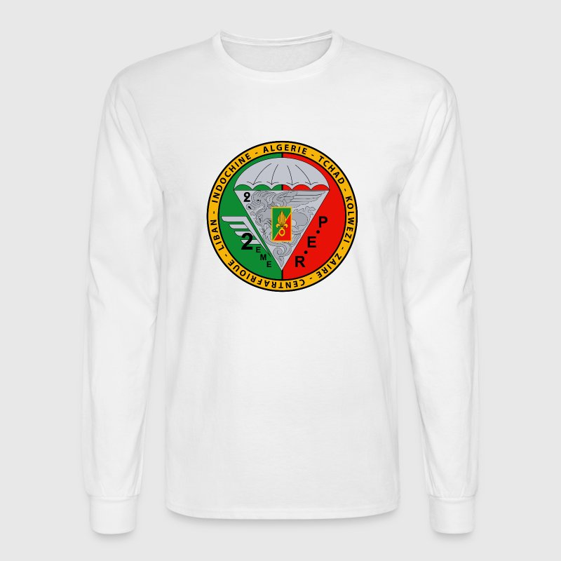 2nd EME - French Foreign Legion - Shirt - Men's Long Sleeve T-Shirt
