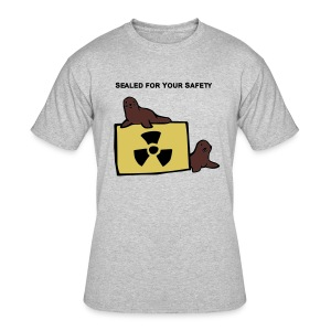 Sealed for Your Safety Men's Lightweight - Men's 50/50 T-Shirt
