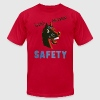Lemon horse sense funny safety shirt T-Shirts (Short sleeve) - Men's T-Shirt by American Apparel