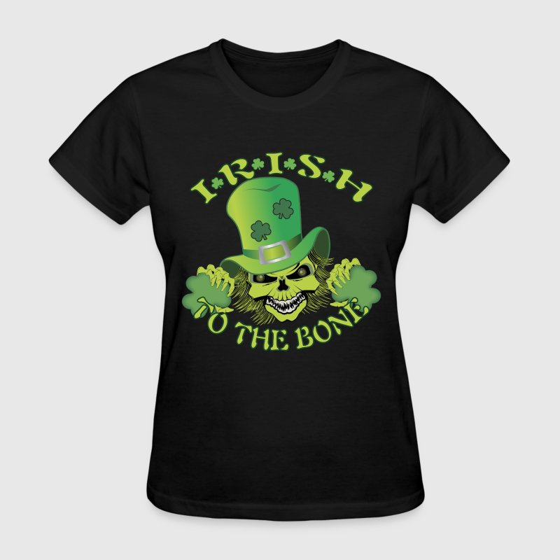 Irish Skull - Women's T-Shirt