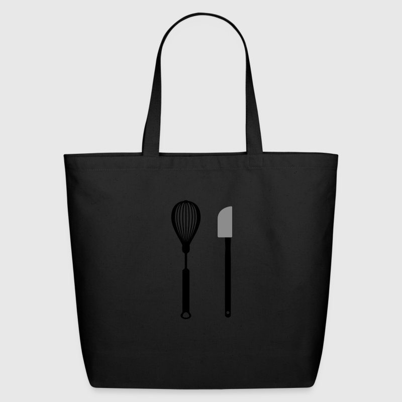 Black cooking utensils Bags  - Eco-Friendly Cotton Tote