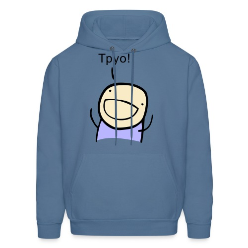 TPYO - unisex tie-dye - Men's Hoodie