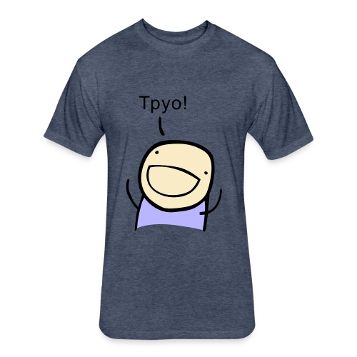 TPYO - unisex tie-dye - Fitted Cotton/Poly T-Shirt by Next Level