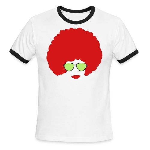 Funky Face - Men's Ringer T-Shirt