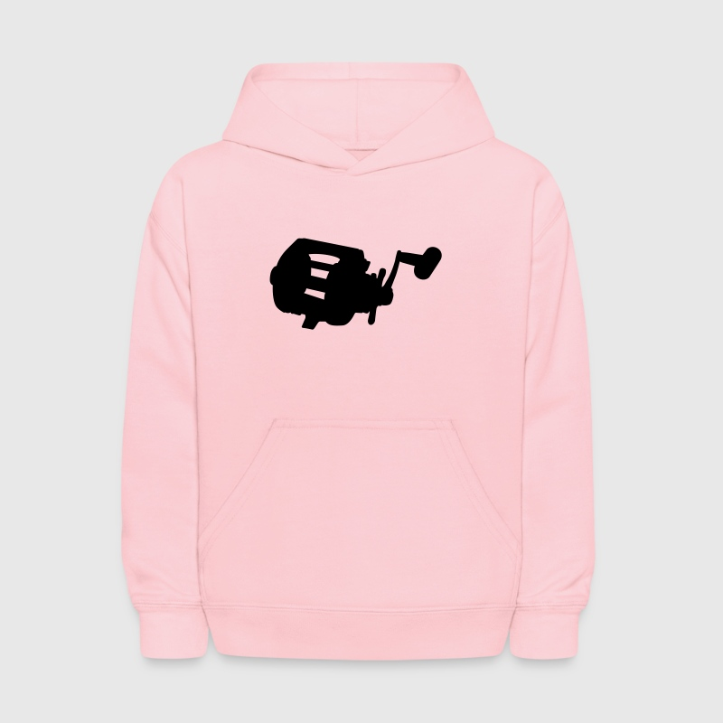 Pink Fishing reel Sweatshirts - Kids' Hoodie