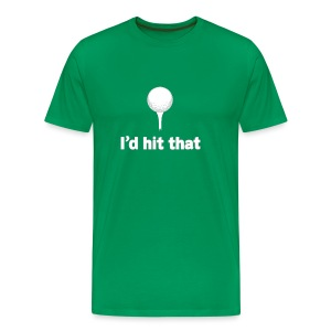I'd Hit That American Apparel Tee - Men's Premium T-Shirt