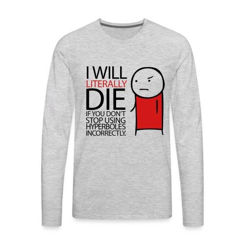 Hyperbole Women's Tee - Men's Premium Long Sleeve T-Shirt