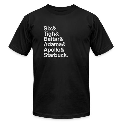 Battlestar Galactica v1 (Shiny) - Men's Fine Jersey T-Shirt