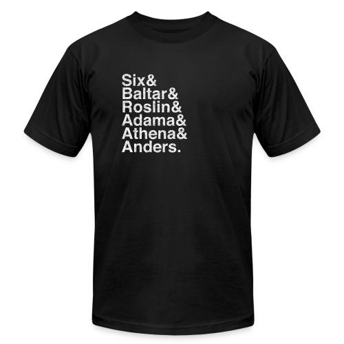 Battlestar Galactica v4 (Shiny) - Men's Fine Jersey T-Shirt