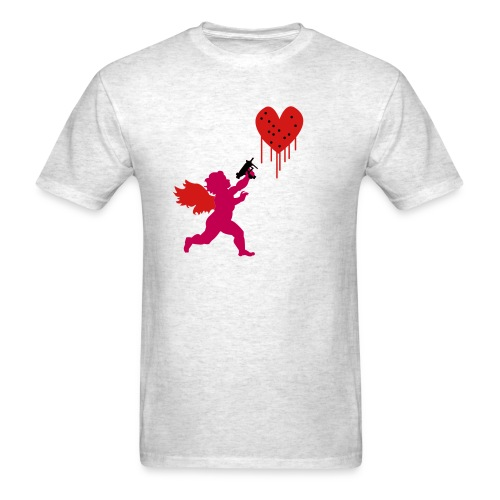 Cupid Uzi - Men's T-Shirt