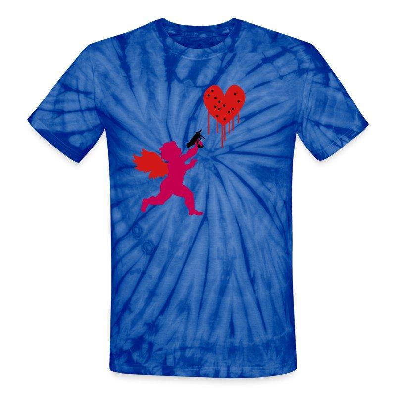 Cupid Uzi - Unisex Tie Dye T-Shirt