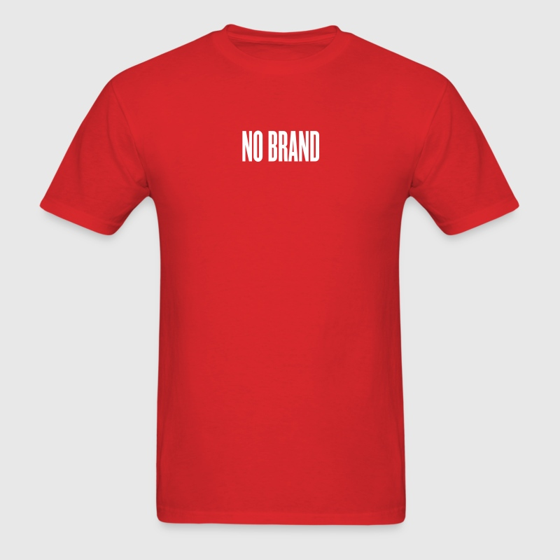 Red no brand by wam T-Shirts - Men's T-Shirt