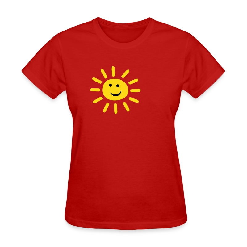 smiley summer sun t shirt spreadshirt. Black Bedroom Furniture Sets. Home Design Ideas