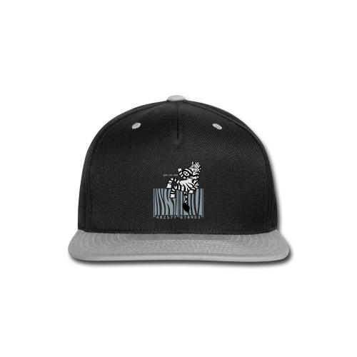 Snap-back Baseball Cap - Zebra Code
