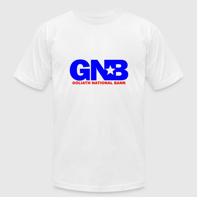 White GNB Barney How Met Mother T-Shirts - Men's T-Shirt by American Apparel