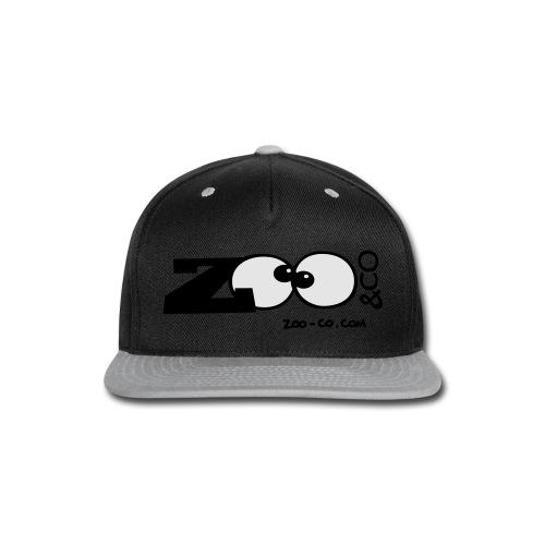 Snap-back Baseball Cap - Logo