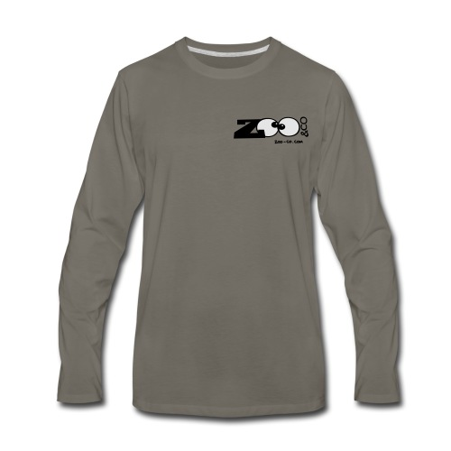 Men's Premium Long Sleeve T-Shirt - Logo