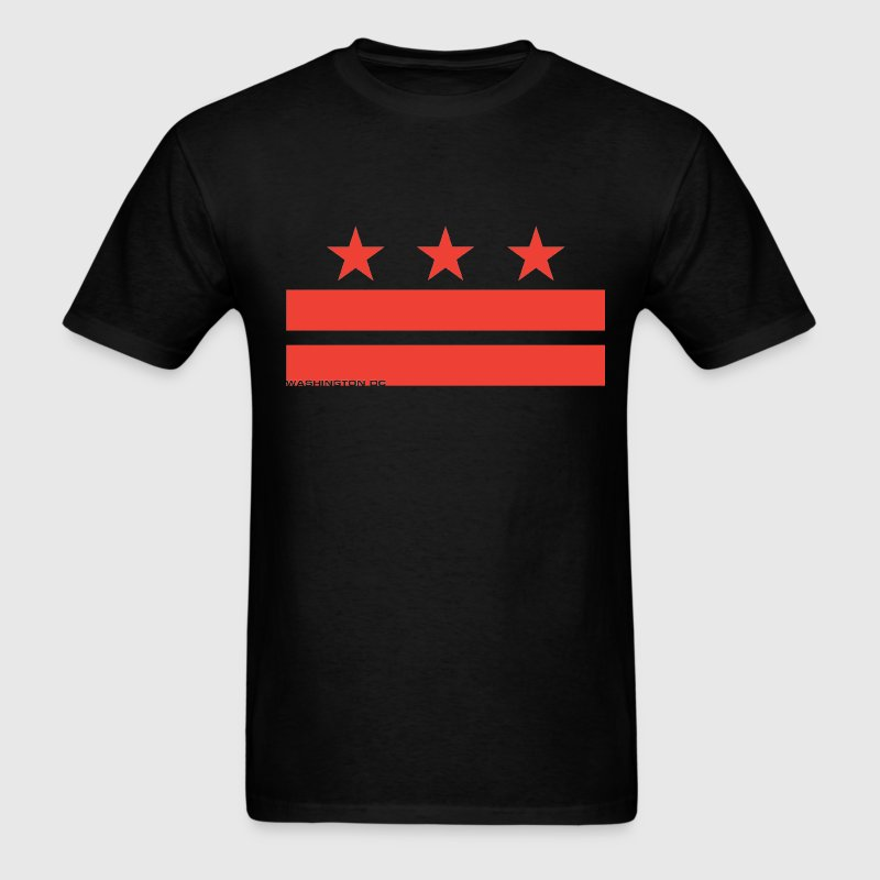 Washington DC Flag - Men's T-Shirt