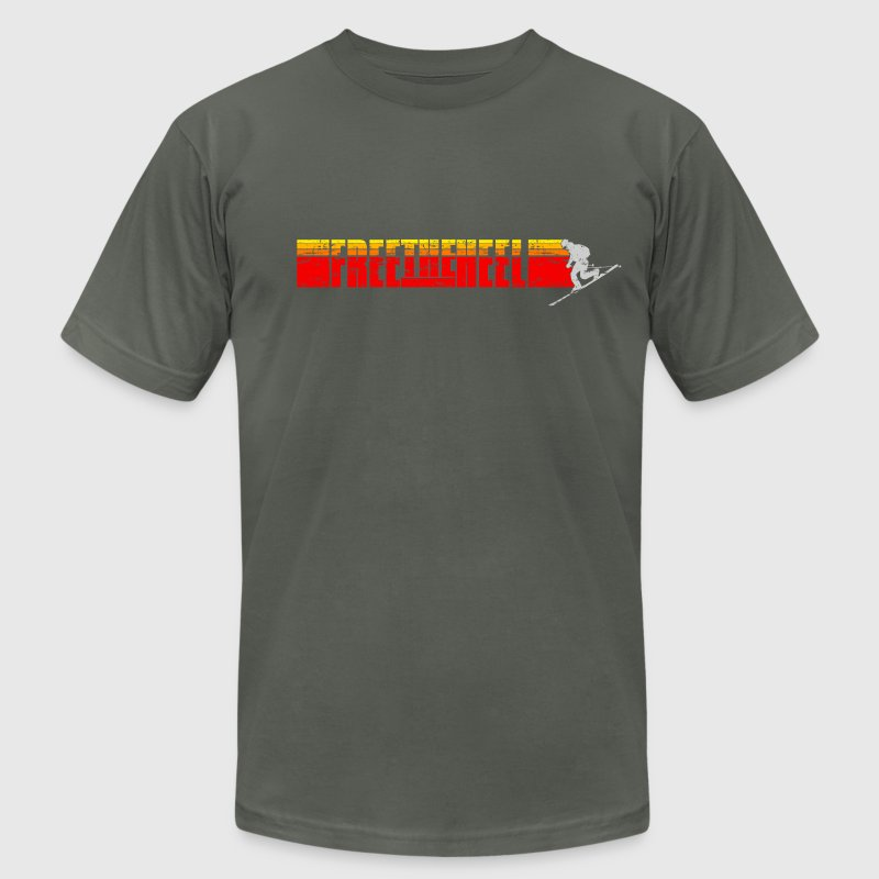 Free The Heel - Men's T-Shirt by American Apparel