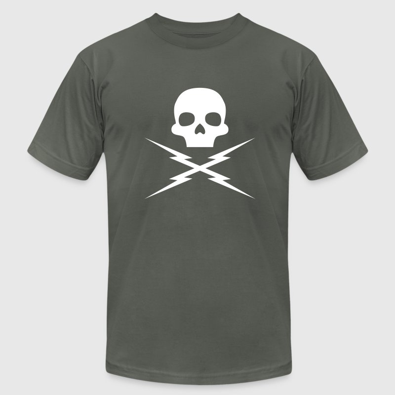Death Proof: Stuntman Mike Skull T-Shirts - Men's T-Shirt by American Apparel