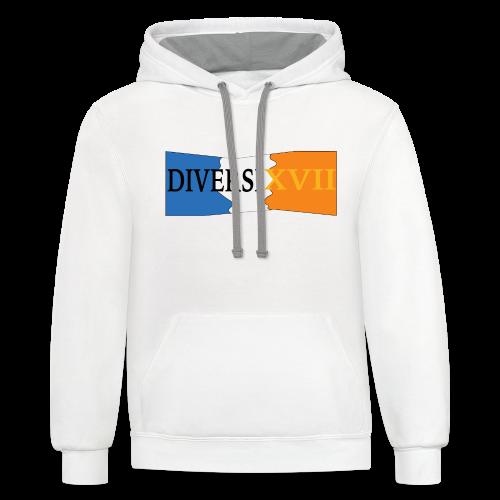 DIVERSI - Contrast Hoodie