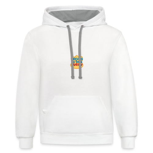 Proud to be a Furry! - Contrast Hoodie