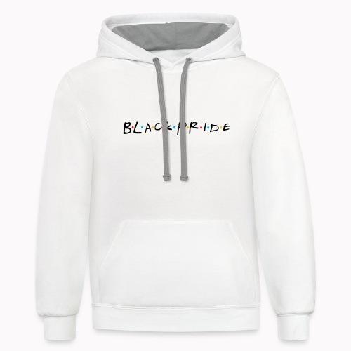 BlackPride Friends - Contrast Hoodie