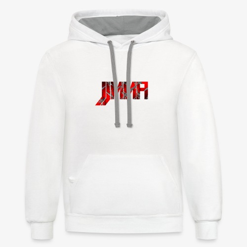 Official JJMMA LOGO barbed wire - Contrast Hoodie