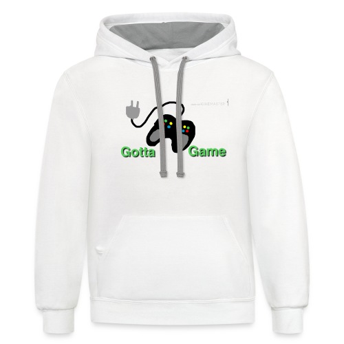 gotta game - Contrast Hoodie