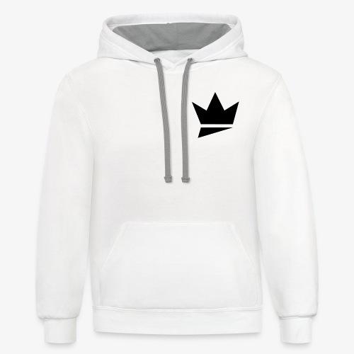 Crown Logo - Contrast Hoodie