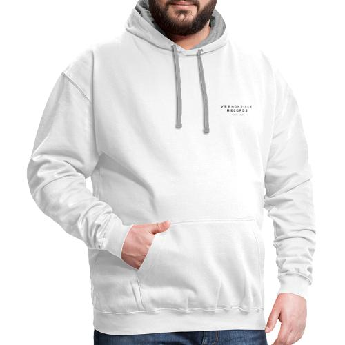 VERNONVILLE RECORDS TEES - Contrast Hoodie