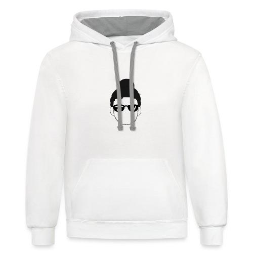 JVMUSIC logo - Contrast Hoodie