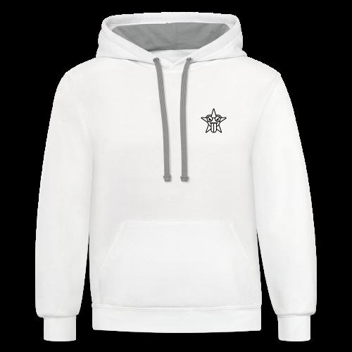 starfrosch - Contrast Hoodie