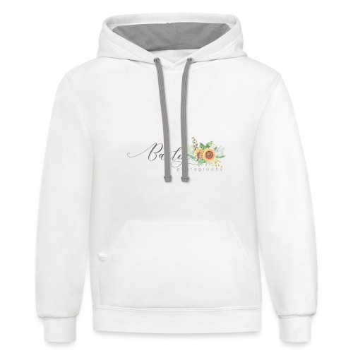Bailey's Photography Logo - Contrast Hoodie
