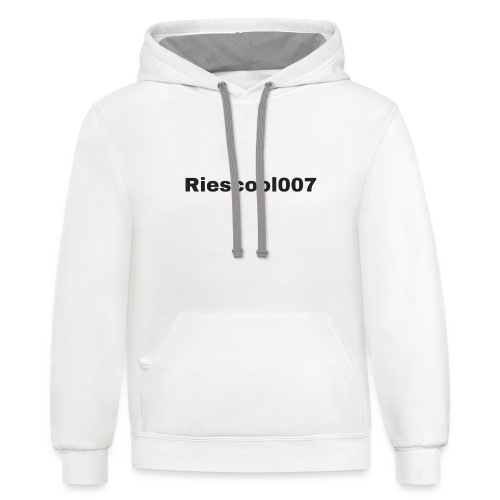 Riescool007 Merch - Contrast Hoodie