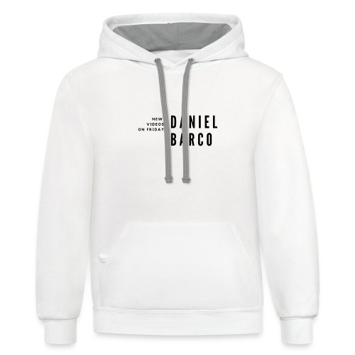 Channel Art Design - Contrast Hoodie