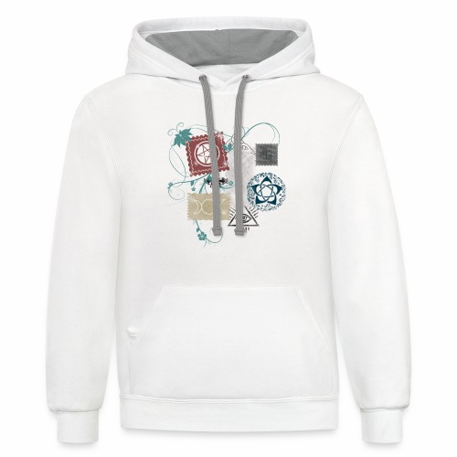 Wicca Stamp - Contrast Hoodie